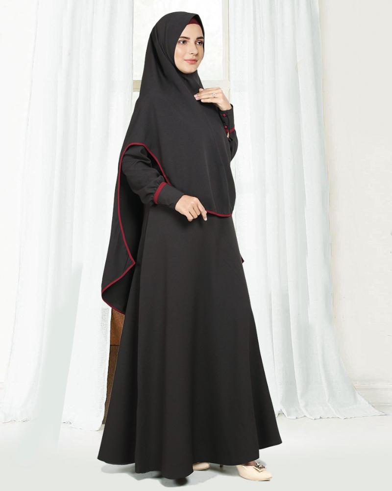 trend model baju lebaran Gamis Syar'i
