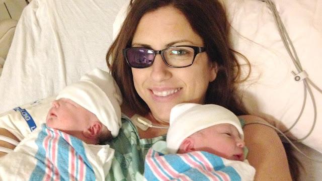 Беременной удалили глаз, чтобы дети родились здоровыми!
