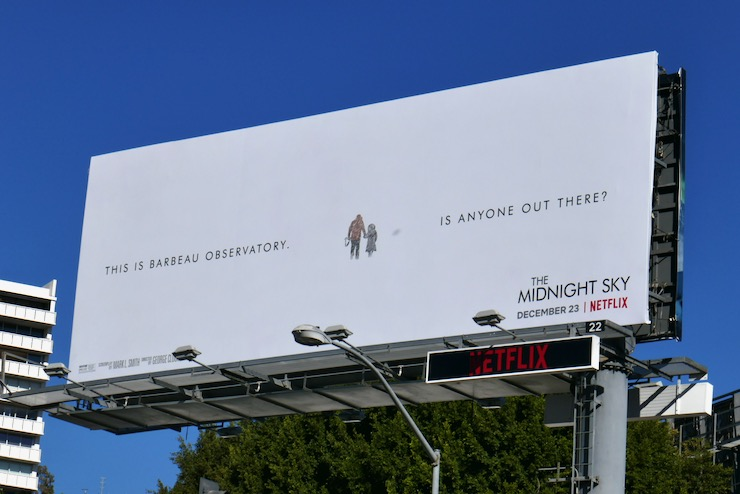 Midnight Sky Is anyone out there billboard