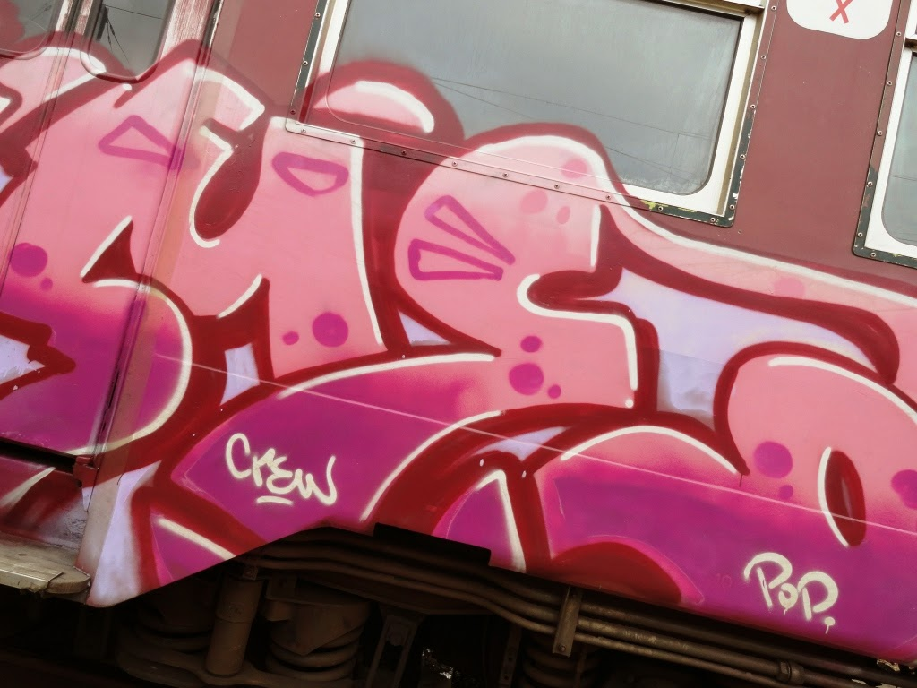 Graffiti Art On Trains: Same
