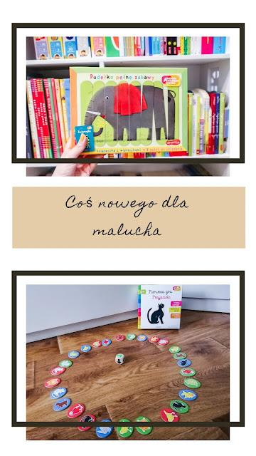 Coś dla malucha | Gry. Pierwsza gra - przyjaciele oraz Pudełko pełne zabawy