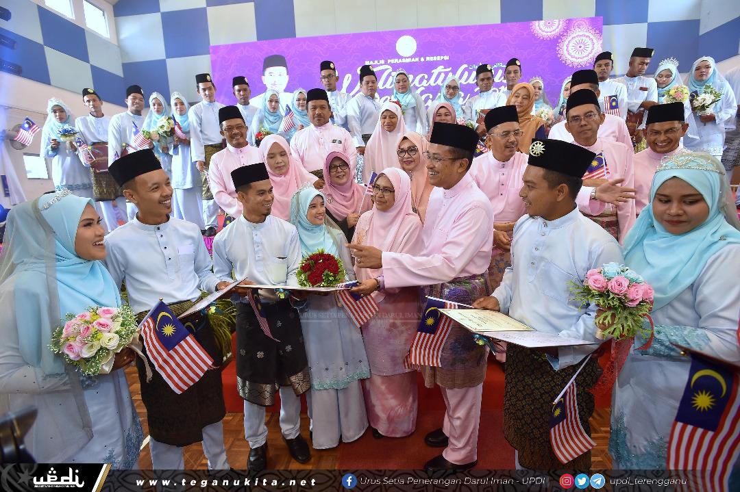 194 Pasangan Kahwin Serentak Di Terengganu Trdi News