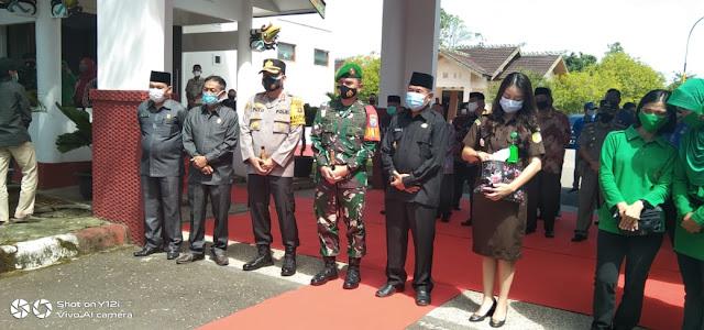 Danrem 102/Pjg Brigjen TNI Purwo Sudaryanto Kunker ke Murung Raya