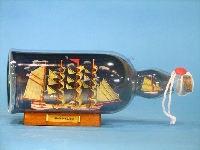 Ship in a bottle - Impossible bottle