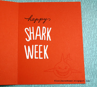 Happy shark week with MFT's Emmit Alphabet