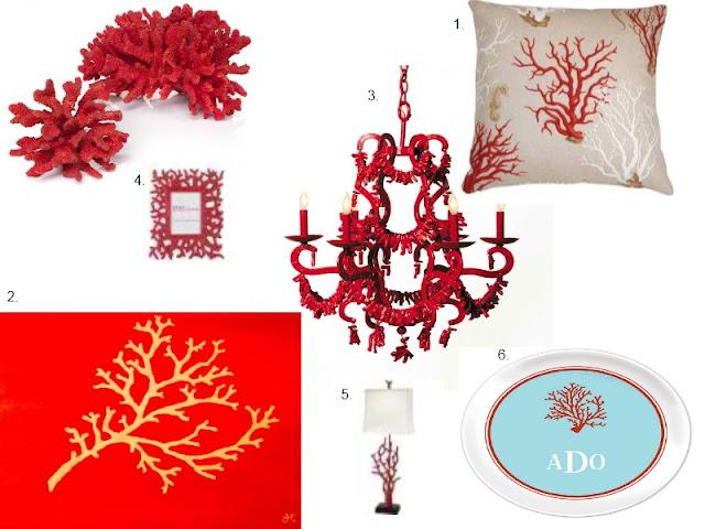 coral decorationfor living room
