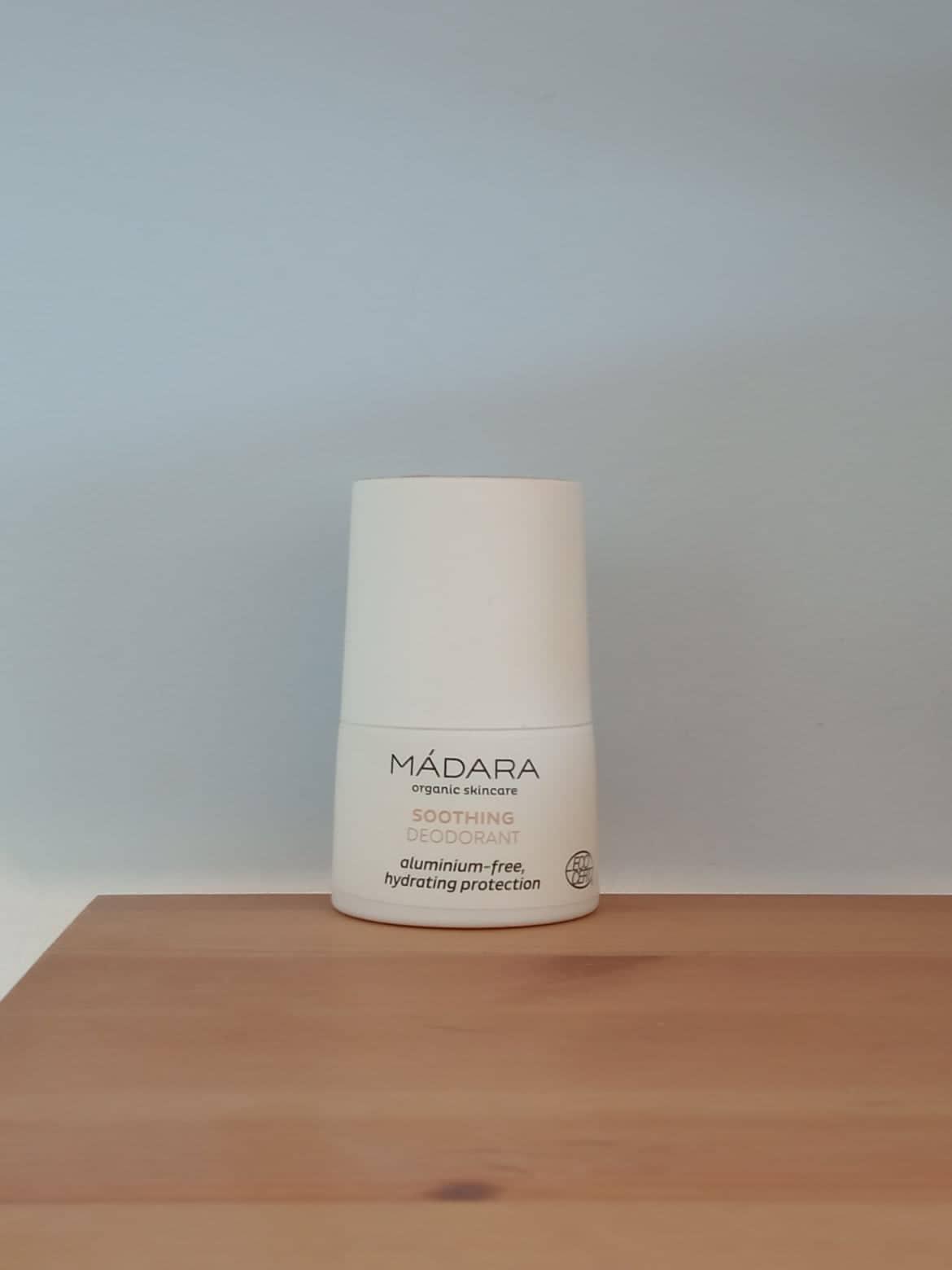 Kojący dezodorant marki Madara