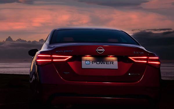 Nissan Sentra Híbrido E-Power é apresentado na China