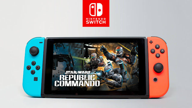 star wars republic commando nintendo switch version leaked tactical first-person shooter lucas arts aspyr media