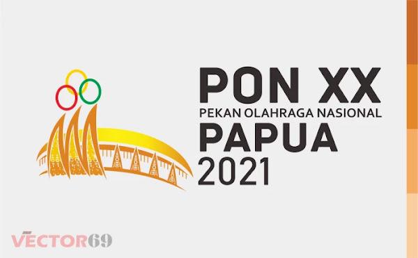 PON (Pekan Olahraga Nasional) XX Papua Tahun 2021 Logo - Download Vector File AI (Adobe Illustrator)