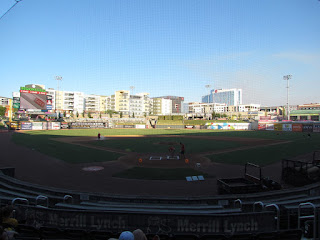 Home to center, Regions Field