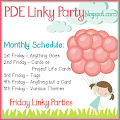 PDE Linky Party 2017 Friday Schedule