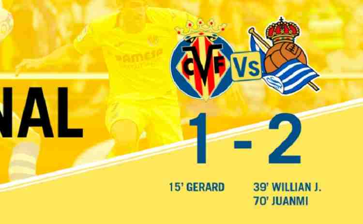 Hasil Villarreal vs Real Sociedad Skor Akhir 1-2 [ Laliga 1 2018 ]