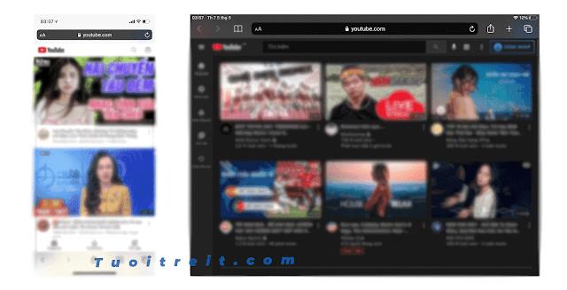 Mẹo nghe nhạc tắt màn hình trên Youtube cho Iphone/Ipad không cần ứng dụng và Jaibreak