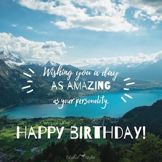 Birthday Wishes to a Female Friend