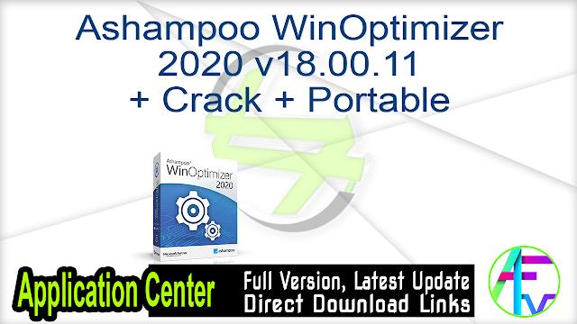 Ashampoo WinOptimizer 2020 v18.00.11 + Crack + Portable