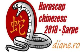 Horoscop Șarpe 2018