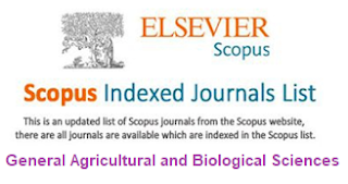 Free Scopus Indexed Journals in General Agricultural and Biological Sciences