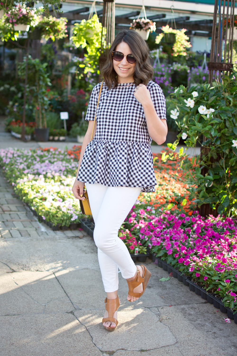 summer outfit idea, fashion blogger, gingham print outfit, gingham, shein fashion blogger, spring fashion, summer style, ootd, outfit, style blogger