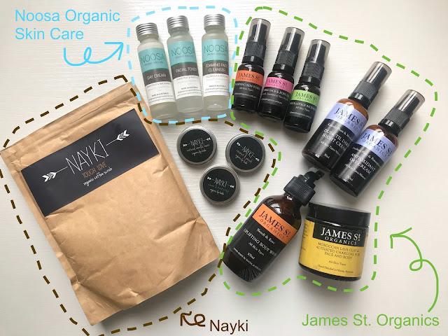 >>澳洲小眾天然有機品牌*James St Organics、Nayki&Noosa Organic Skin Care+送禮活動