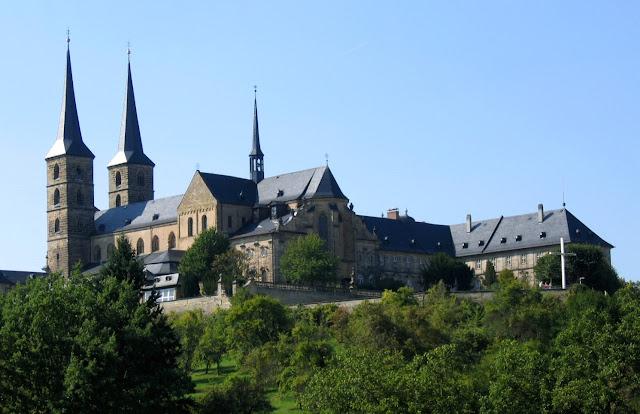 St Michaelsberg Abbey, Bamberg (Photo Asio otus / Wikipedia)