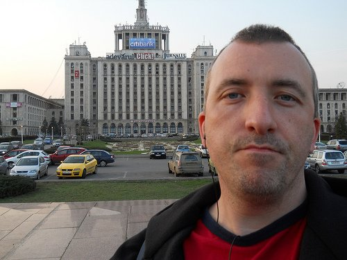 A Romanian pretended to be a British tourist for a day in Bucharest