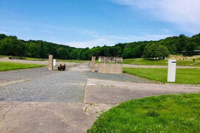 """""""Photo de l'emplacement du camp et la place d'appel du camp de Dora"""""""