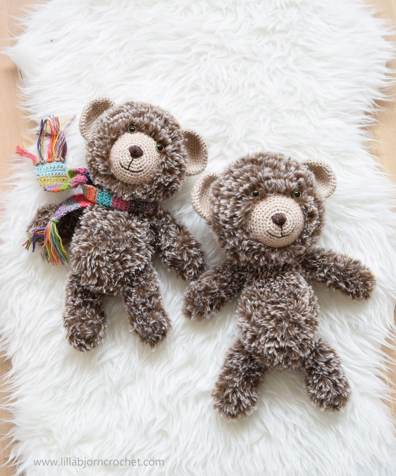 15 Crochet Teddy Bear Patterns | 1600x1333