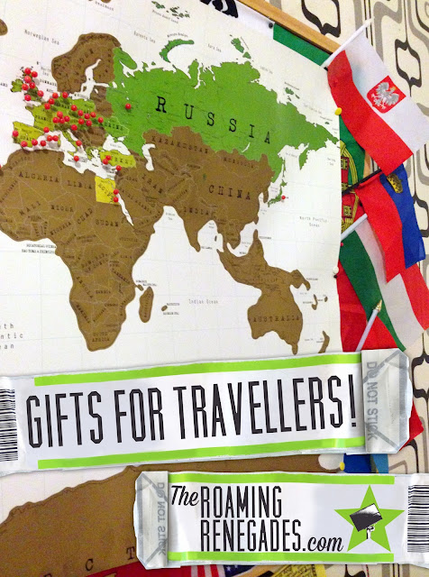 Gifts for the Traveller that they will love, unique gifts, practical gifts, traveler, travel, backpacking, Christmas, Birthday, Eid, Hanukah, Scratch map, pins, inspiration, Compact Camera, Sony RX-100, Go Pro Hero 4, Silver, photography, Battery Pack, Guidebooks, Lonely planet, Artwork, Dry Sack, best backpacks for travelling, best backpacks for traveling, backpacking, Backpack/ Luggage, Documents Holder, travel wallet,