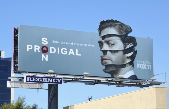 Tom Payne Prodigal Son extension cut-out billboard