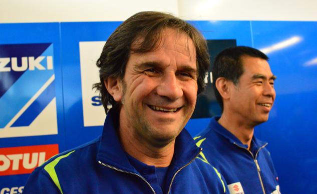 Davide Brivio Selaku Manager Suzuki Senang Alex Rins Kalahkan Rossi
