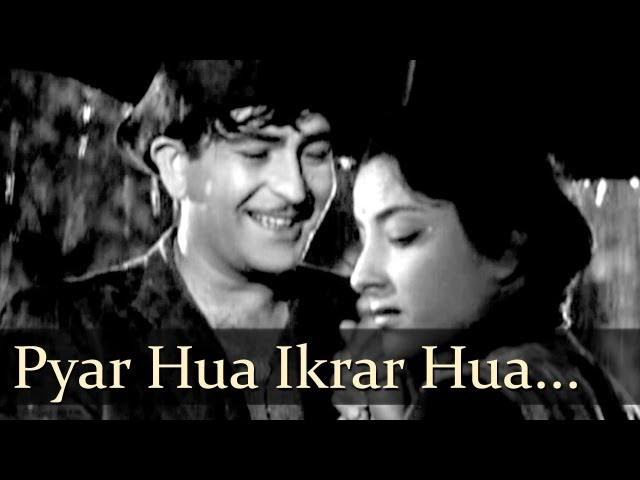 Pyar hua Ikrar hua Lyrics