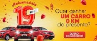 Promoção Smart Supermercados 19 Anos Aniversário 2019 - 3 Carros 0KM
