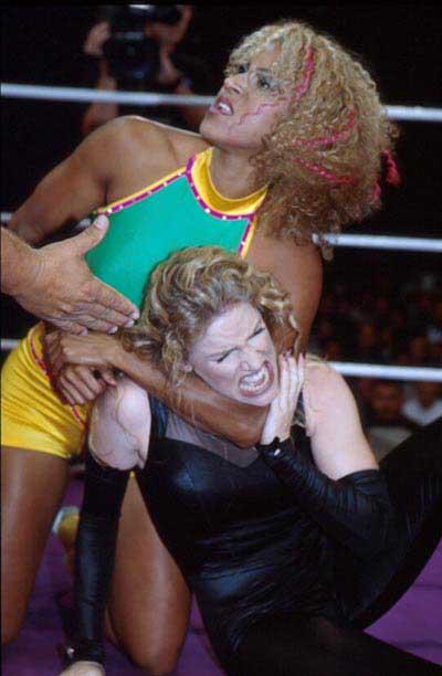 Pro Wrestling Women - Roxy Powers