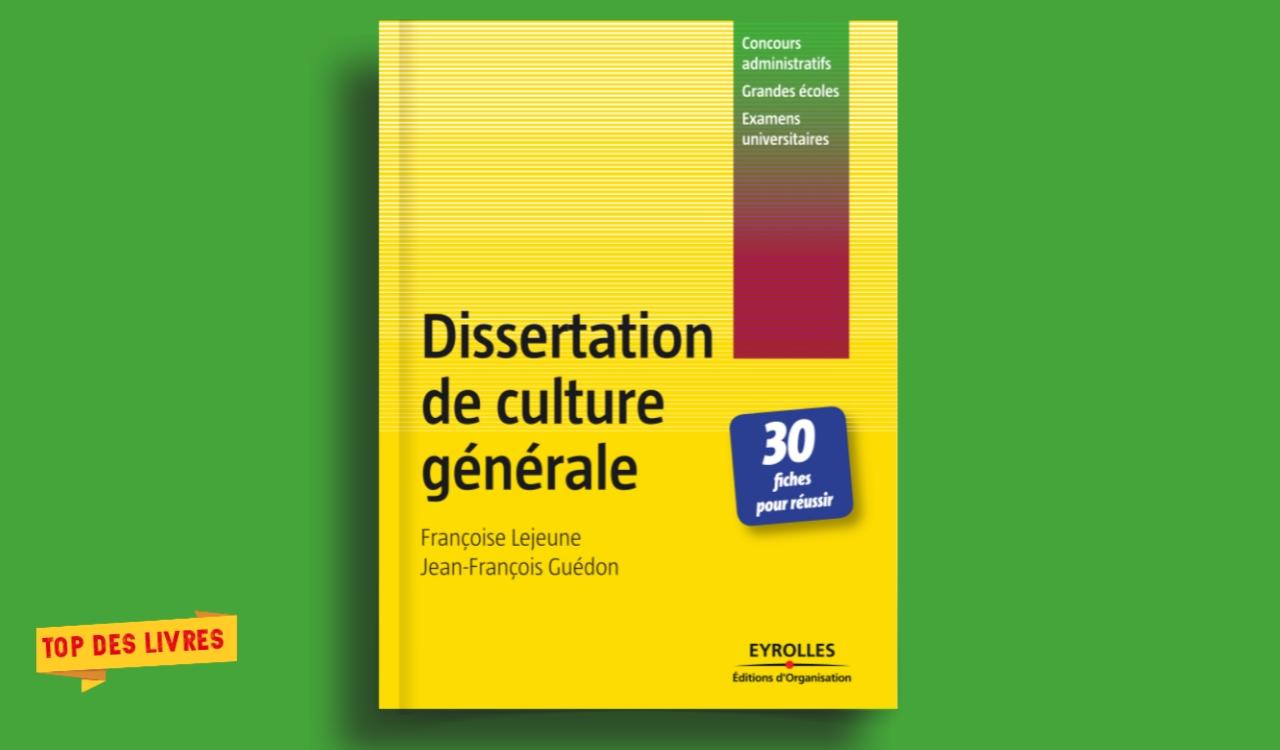 Télécharger : Dissertation de culture générale en pdf