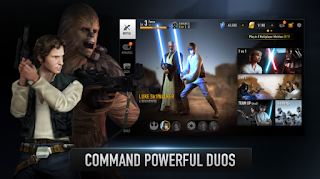 Star Wars Force Arena Mod Apk Attack speed 10x