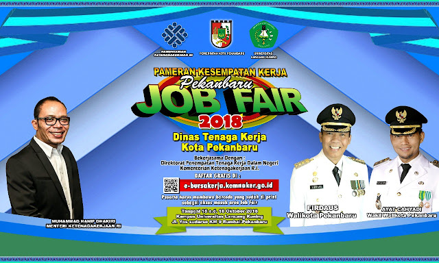 Job Fair Univ Lancang Kuning Pekanbaru Riau