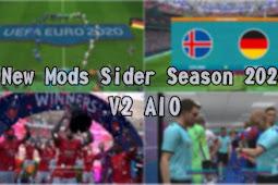New Mods Sider Season 2020 V2 AIO + FIX - PES 2017