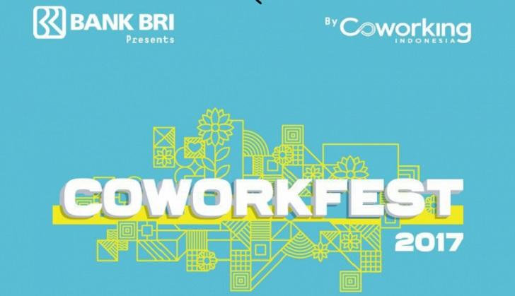 Coworkfest 2017 Kolaborasi Bareng Coworking Indonesia dengan BRI