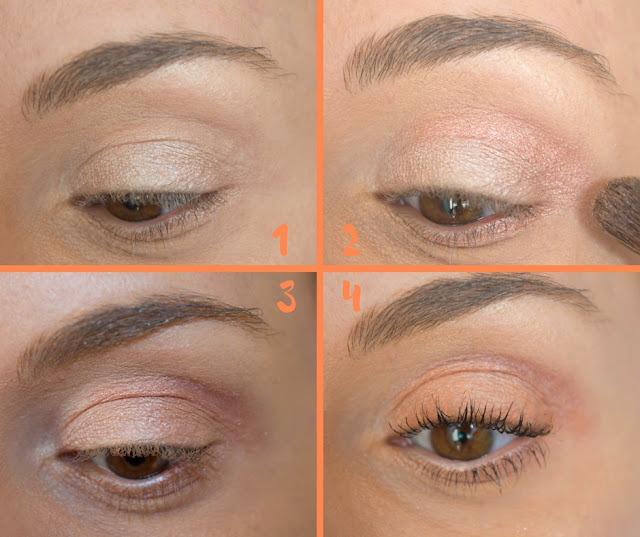 Monday Shadow Challenge : Un maquillage Glowy & Saumon 💕