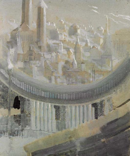 Чюрлёнис Микалоюс Константинас - Город. 1908