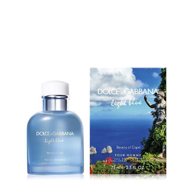 light blue beauty of capri