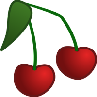 cherry fruit icons 2