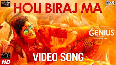 Holi biraj ma lyrics - Genius song | Jubin Nautiyal