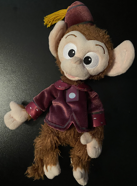 Albert Monkey Mystic Manor Plush Hong Kong Disneyland