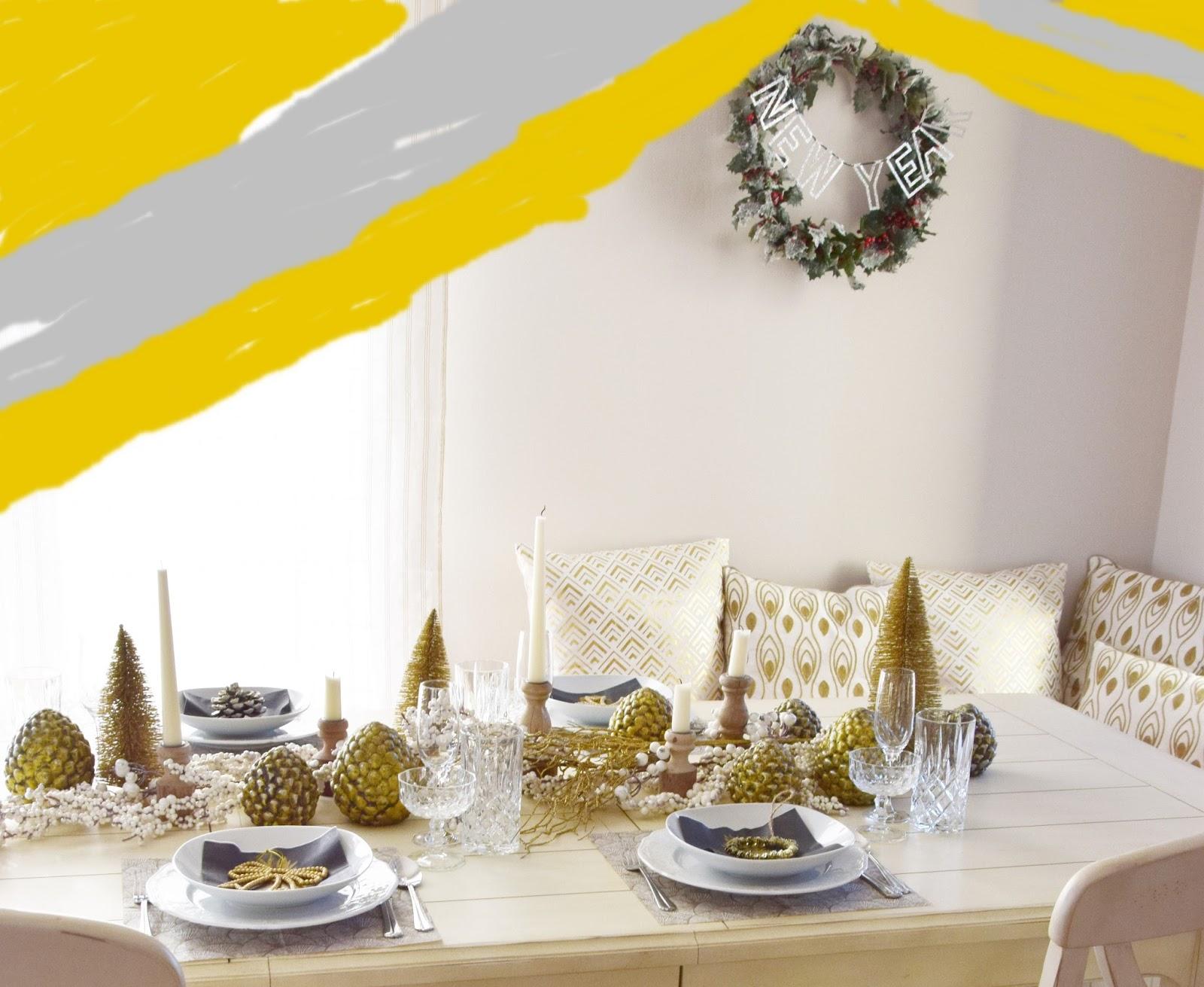 meine silvester tischdeko mit tipps ideen f r euch eclectic hamilton. Black Bedroom Furniture Sets. Home Design Ideas