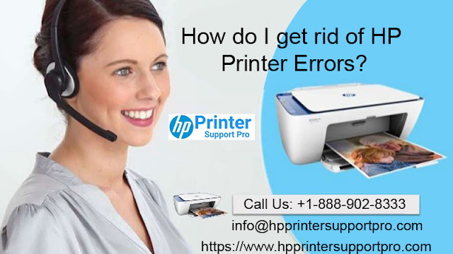 printer in an error state