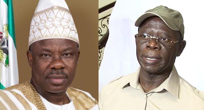 APC crisis: Again, Gov. Amosun takes Oshiomhole to the cleaners