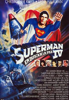 Ver película Superman IV - En Busca de la Paz (1987) online y descargar