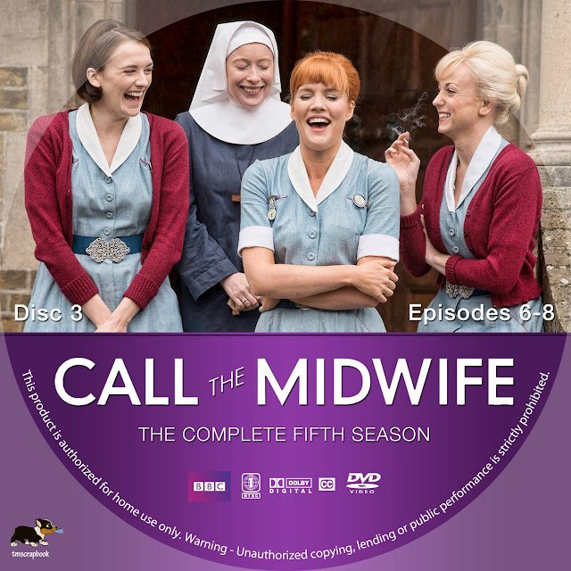 Call The Midwife Season 5 Disc 3 DVD Label